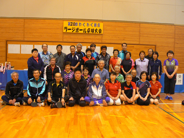 ラージボール卓球大会1